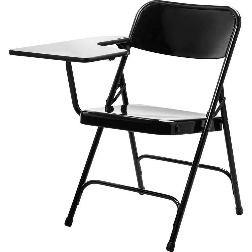 Terrific National Public Seating 5200 Series Black Tablet Arm 18 Gauge Steel Folding Chair Grey Nebula Right Arm Chair 2 Pack Alphanode Cool Chair Designs And Ideas Alphanodeonline