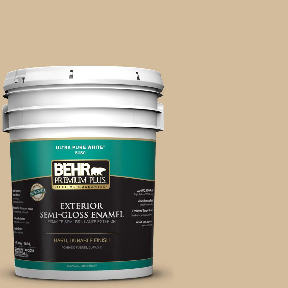 5-gal. #N290-4 Curious Collection Semi-Gloss Enamel Exterior Paint