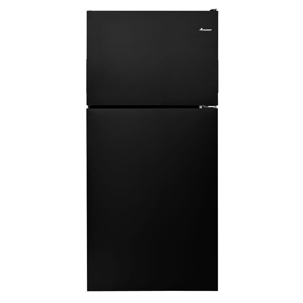 Amana 18.2 cu. ft. Top Freezer Refrigerator in Black