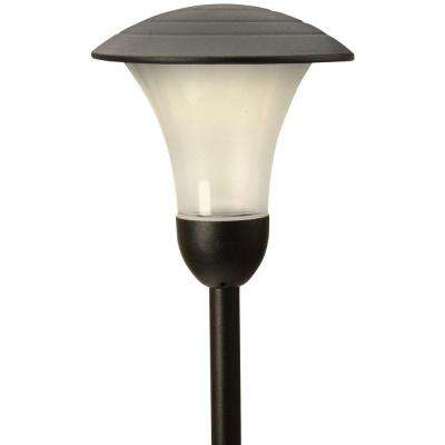 Addison-Style Low-Voltage 1-Watt Black Outdoor Integrated LED Landscape Path Light (4-Pack)