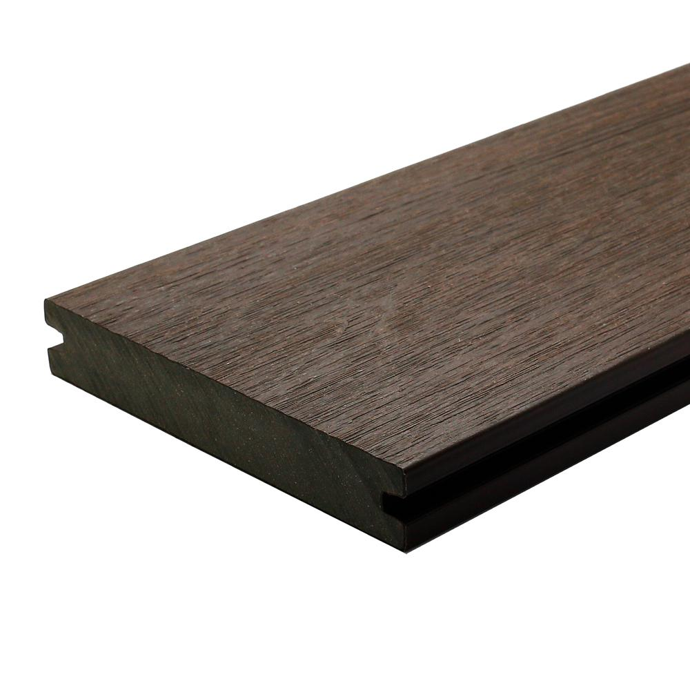 Newtechwood ultrashield naturale magellan 1 in x 6 in x for Composite decking boards