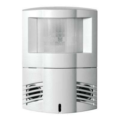 1200 sq. ft. 10/30-Volt DC Dual Technology Passive and Ultrasonic Infrared Occupancy Sensor Wall Corner Mount
