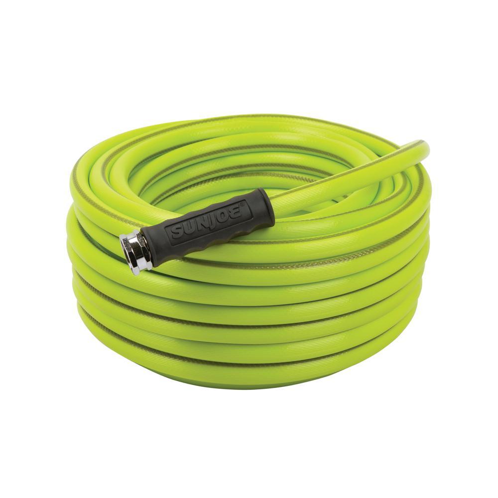 Aqua Joe 5/8 in. Dia. x 75 ft. Heavy Duty, Kink-resistant, Lightweight Garden Hose, Lead-free, BPA-free