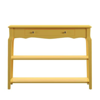 Banana Yellow Sofa Table Tv Stand