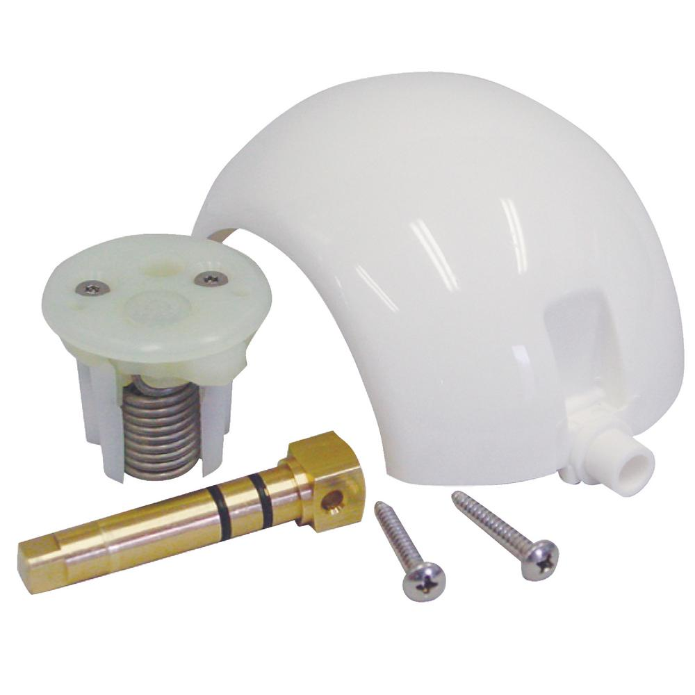 Dometic Ball/Cartridge/Shaft Kit For SeaLand, Traveler, Vacu-Flush  Gravity-Discharge Toilet with Metal Pedal in White
