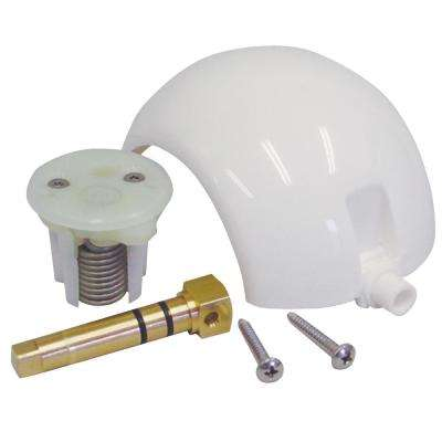 Ball/Cartridge/Shaft Kit For SeaLand, Traveler, Vacu-Flush Gravity-Discharge Toilet with Metal Pedal in White