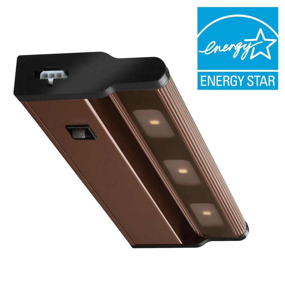 Lithonia Lighting 12 in. LED Bronze Under Cabinet