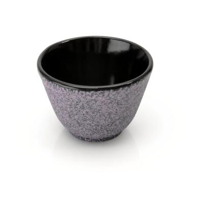 Studio Purple 3.5 oz. Cast Iron Tea Bowl (Set of 2)