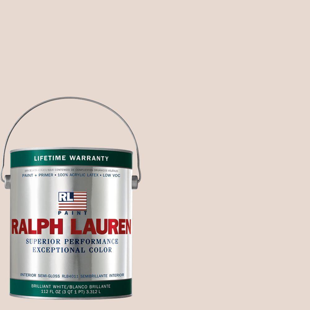 Ralph Lauren 1-gal. Cameo Pink Semi-Gloss Interior Paint