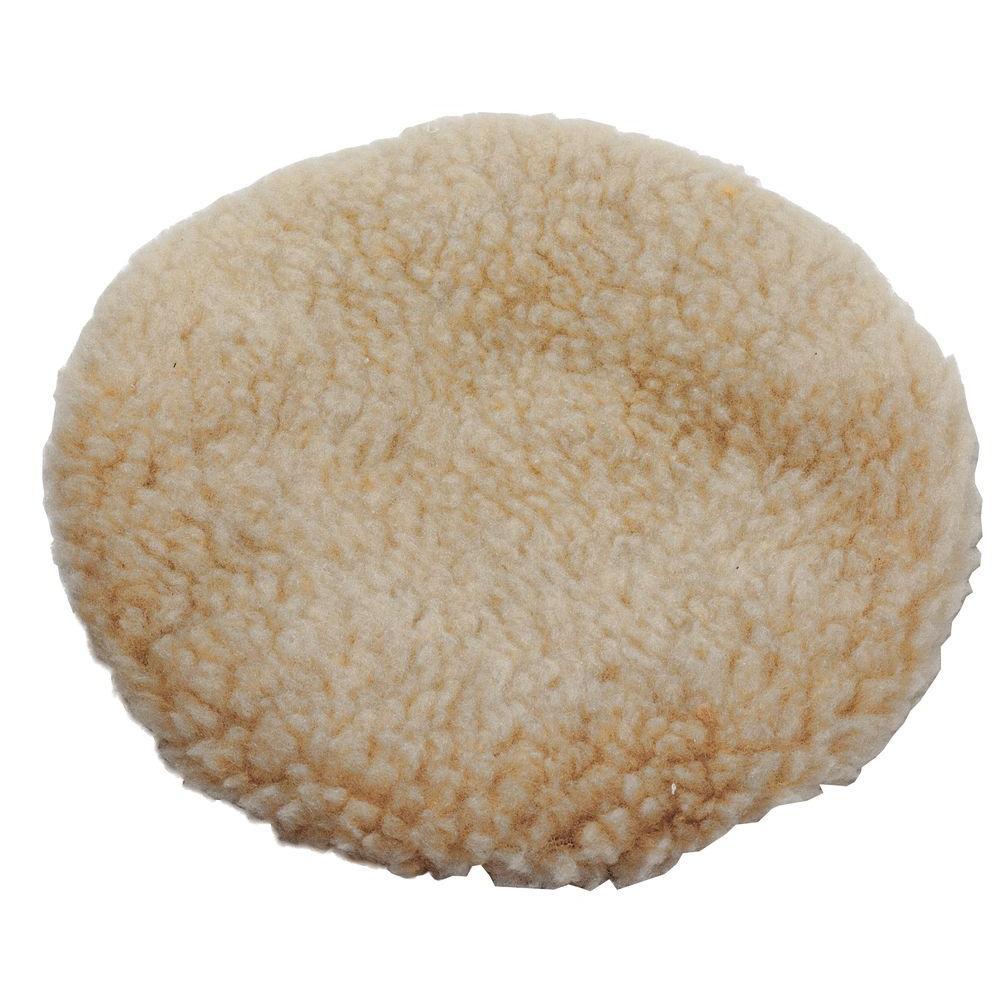 9 in. x 10 in. Synthetic Wool Polishing Bonnet
