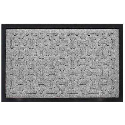 Medium Gray 18 in. x 27 in. Dog Treats Boot Tray