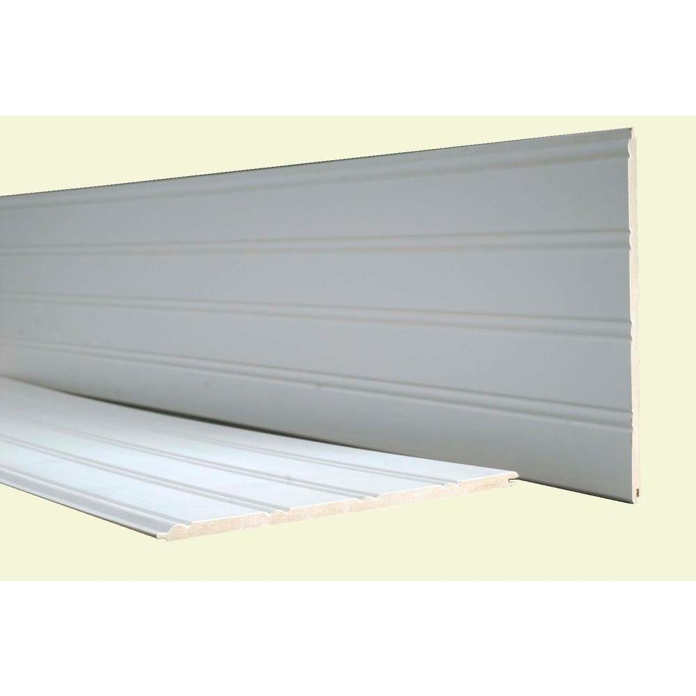 Mdf Beadboard In Bathroom: 42 Sq. Ft. MDF Cape Cod Beadboard Planking (9-Planks
