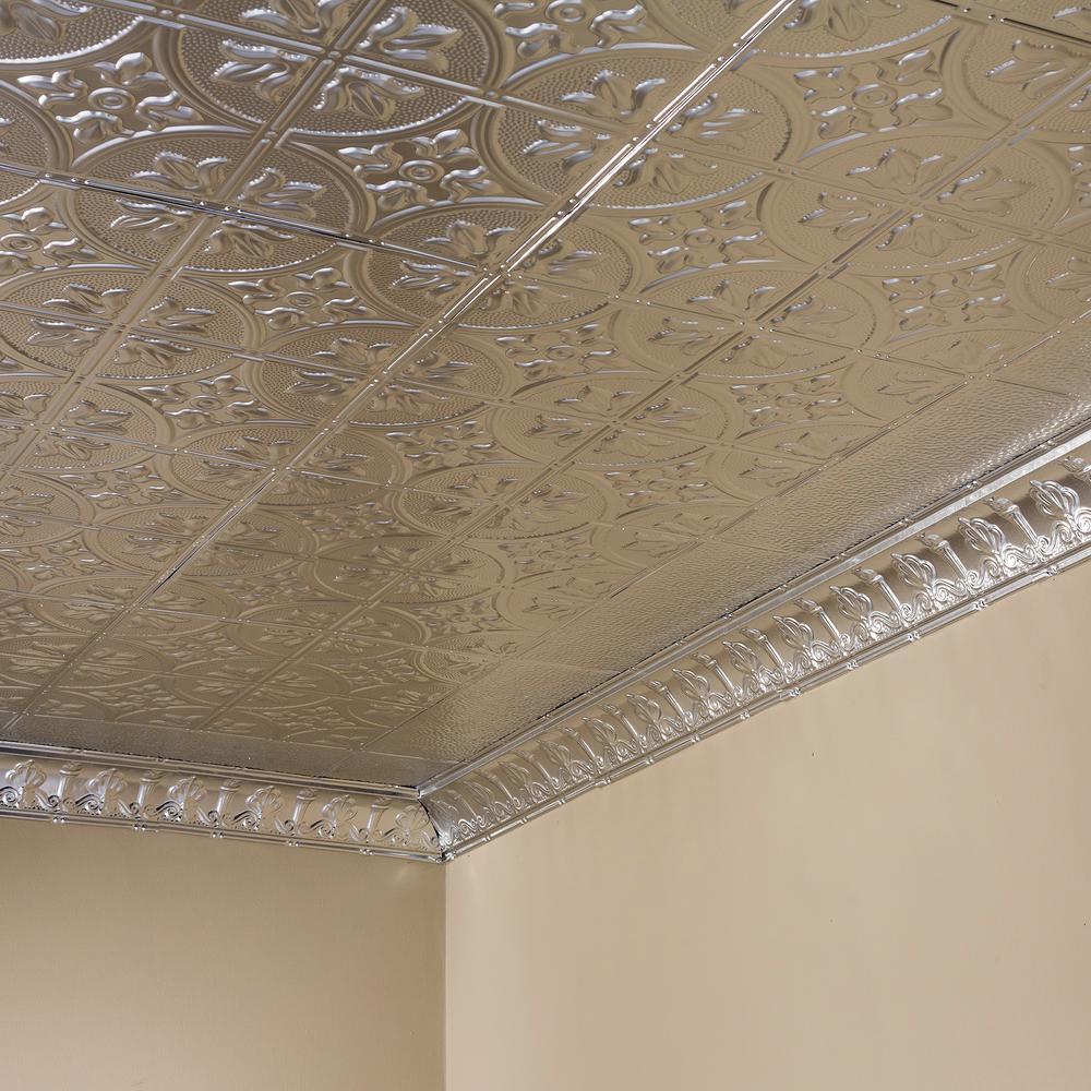 Ft X 2 Nail Up Tin Ceiling Tile