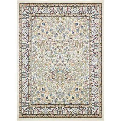 Nain Design Ivory 10 ft. x 13 ft. Area Rug