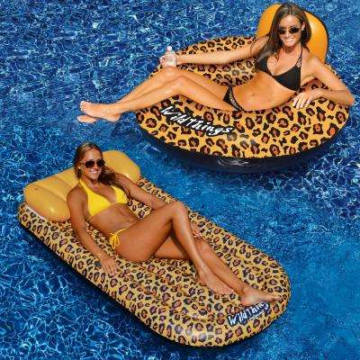 WildThings Cheetah Pool Mattress and Tube