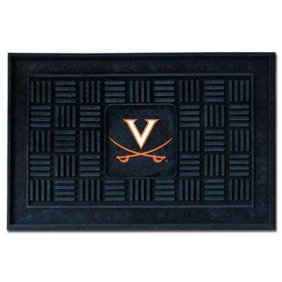 NCAA University of Virginia 19 in. x 30 in. Vinyl Door Mat