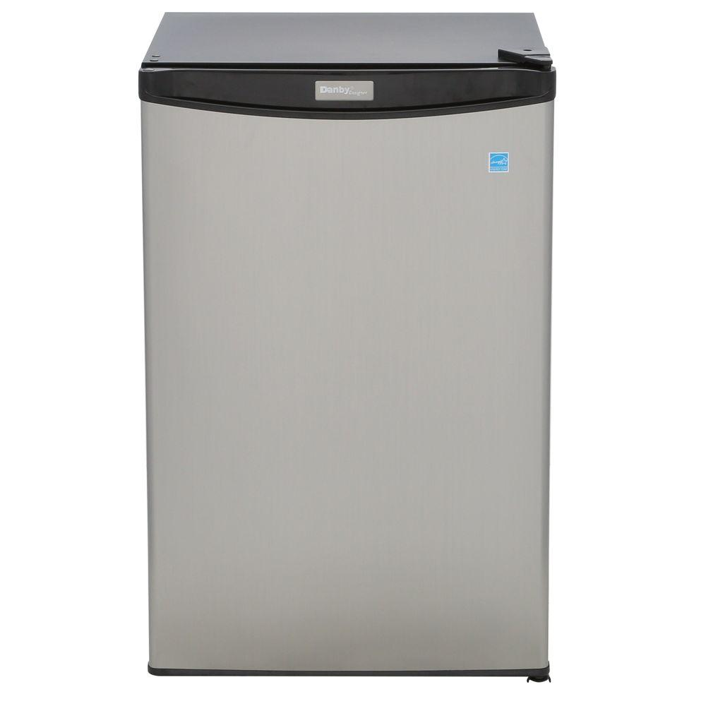 4.4 cu. ft. Mini Refrigerator in Stainless Look