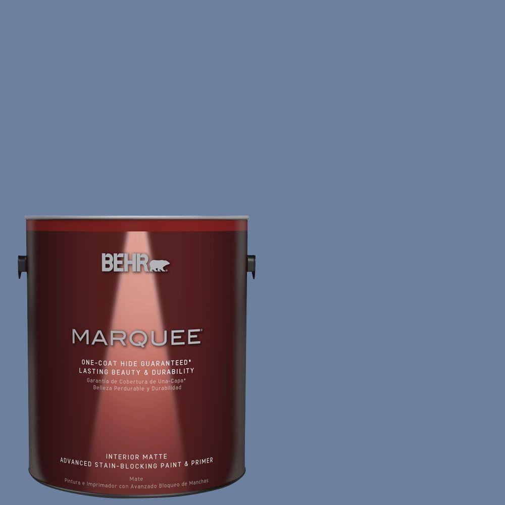 1 gal. #MQ5-52 Lead Cast One-Coat Hide Matte Interior Paint