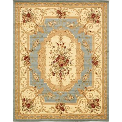 Versailles Henry Light Blue 8' 0 x 10' 0 Area Rug