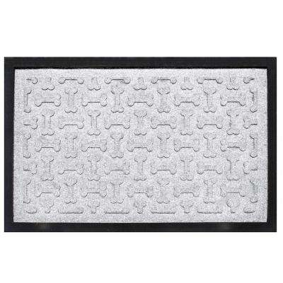 White 18 in. x 27 in. Dog Treats Boot Tray