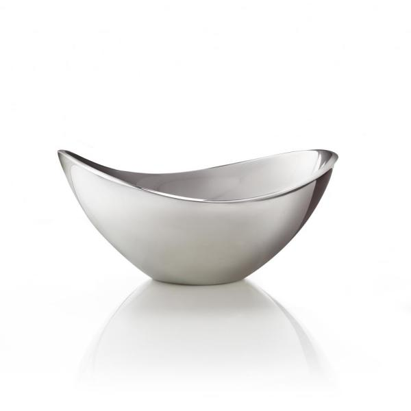Nambe Grande Butterfly 16 in. Alloy Bowl
