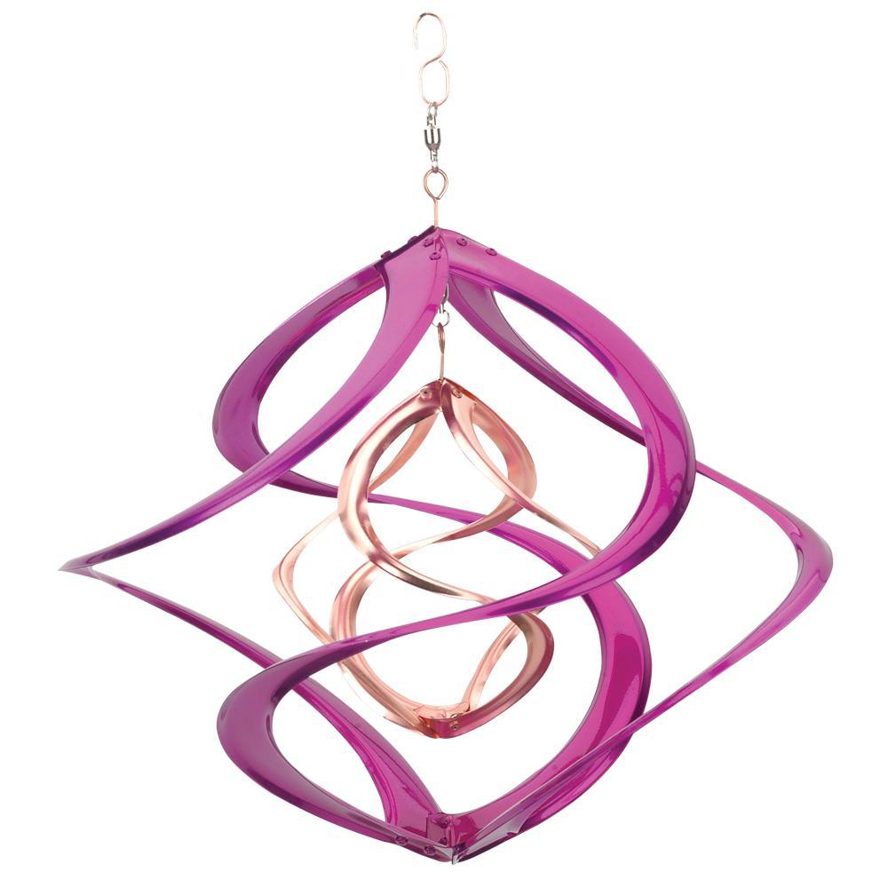 Spinner 14 In Cosmix Purple Copper