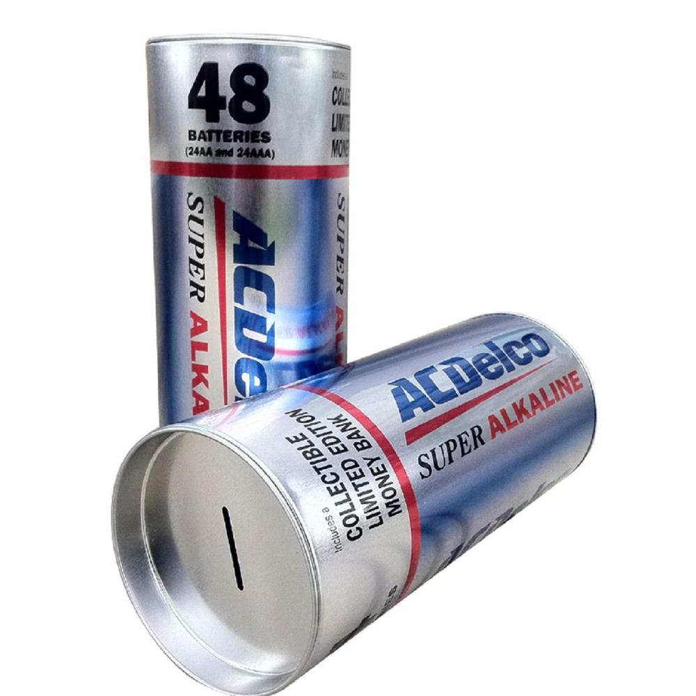 null ACDelco Collectible Storage Battery Box, with 24 AA and 24 AAA Alkaline Batteries-DISCONTINUED