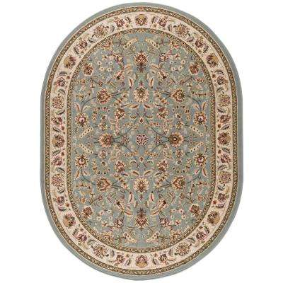Oval 5 X 8 Synthetic Area Rugs Rugs The Home Depot