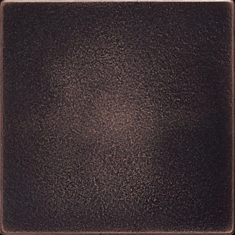 Daltile ion metals oil rubbed bronze 4 14 in x 4 14 in daltile ion metals oil rubbed bronze 4 14 in x 4 14 in composite of metal ceramic and polymer wall tile im03441p the home depot dailygadgetfo Choice Image