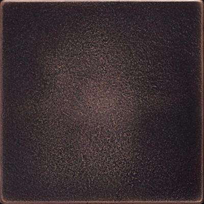 Ion Metals Oil Rubbed Bronze 4-1/4 in. x 4-1/4 in. Composite of Metal Ceramic and Polymer Wall Tile