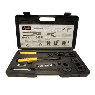Multi-Head PEX Crimp Tool Kit