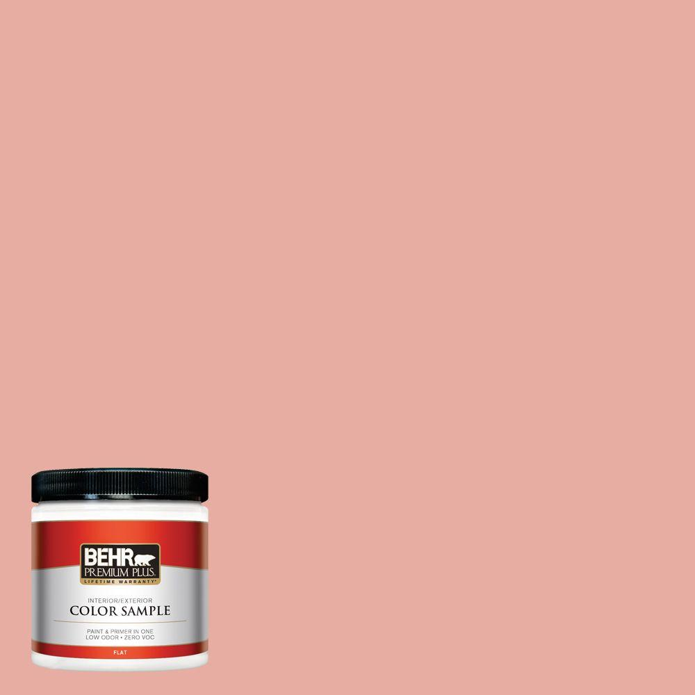 BEHR Premium Plus 8 oz. #180C-3 Rose Linen Interior/Exterior Paint Sample