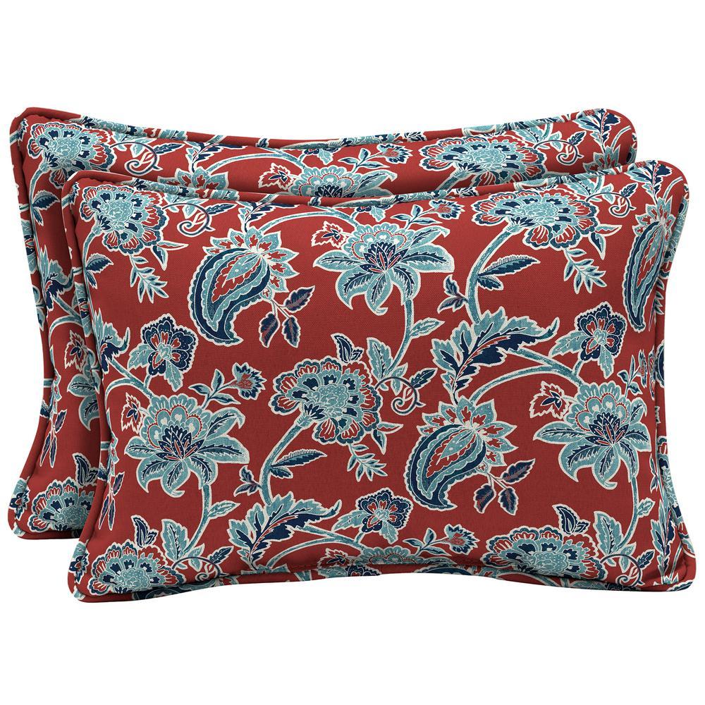 Arden selections 22 x 15 caspian oversized lumbar outdoor - What is a throw pillow ...