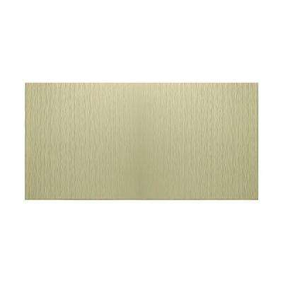 Ripple Vertical 96 in. x 48 in. Decorative Wall Panel in Fern