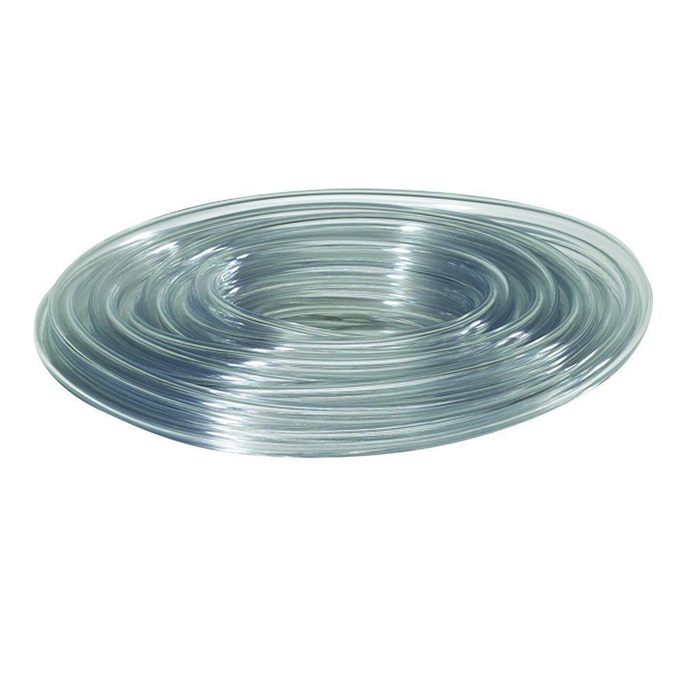 1-5/8 in. O.D. x 1-1/4 in. I.D. x 24 in. Clear PVC Vinyl Tubing