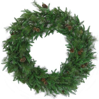 48 in. Norway Pine Artificial Holiday Wreath