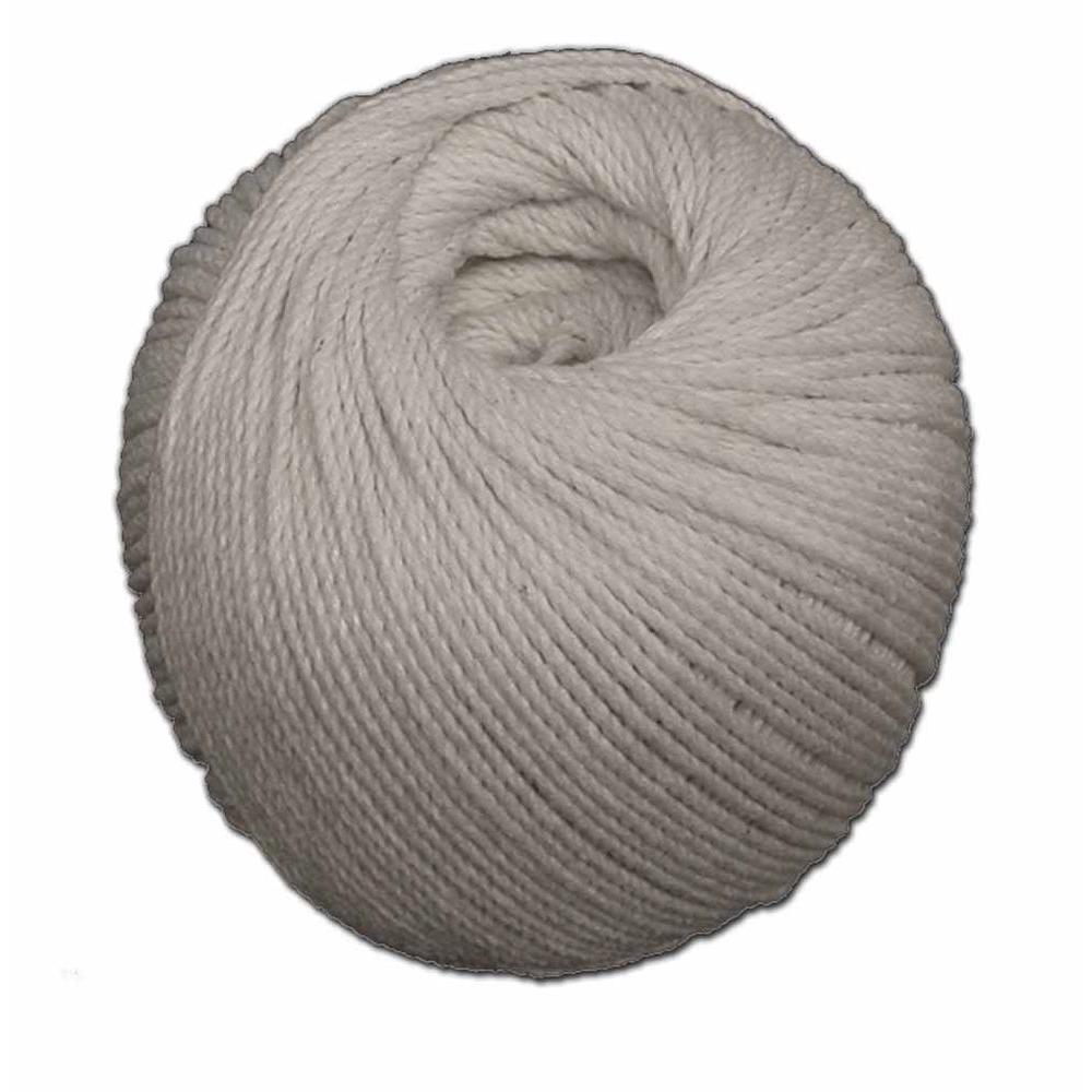 T.W. Evans Cordage #24 600 ft. Cotton Mason Line Seine Twine Ball