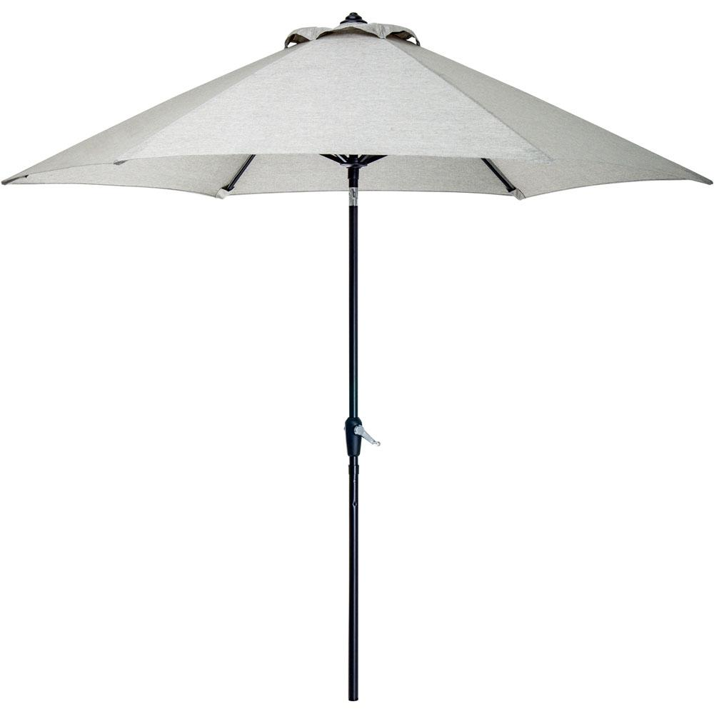 9 ft. Patio Umbrella in Silver