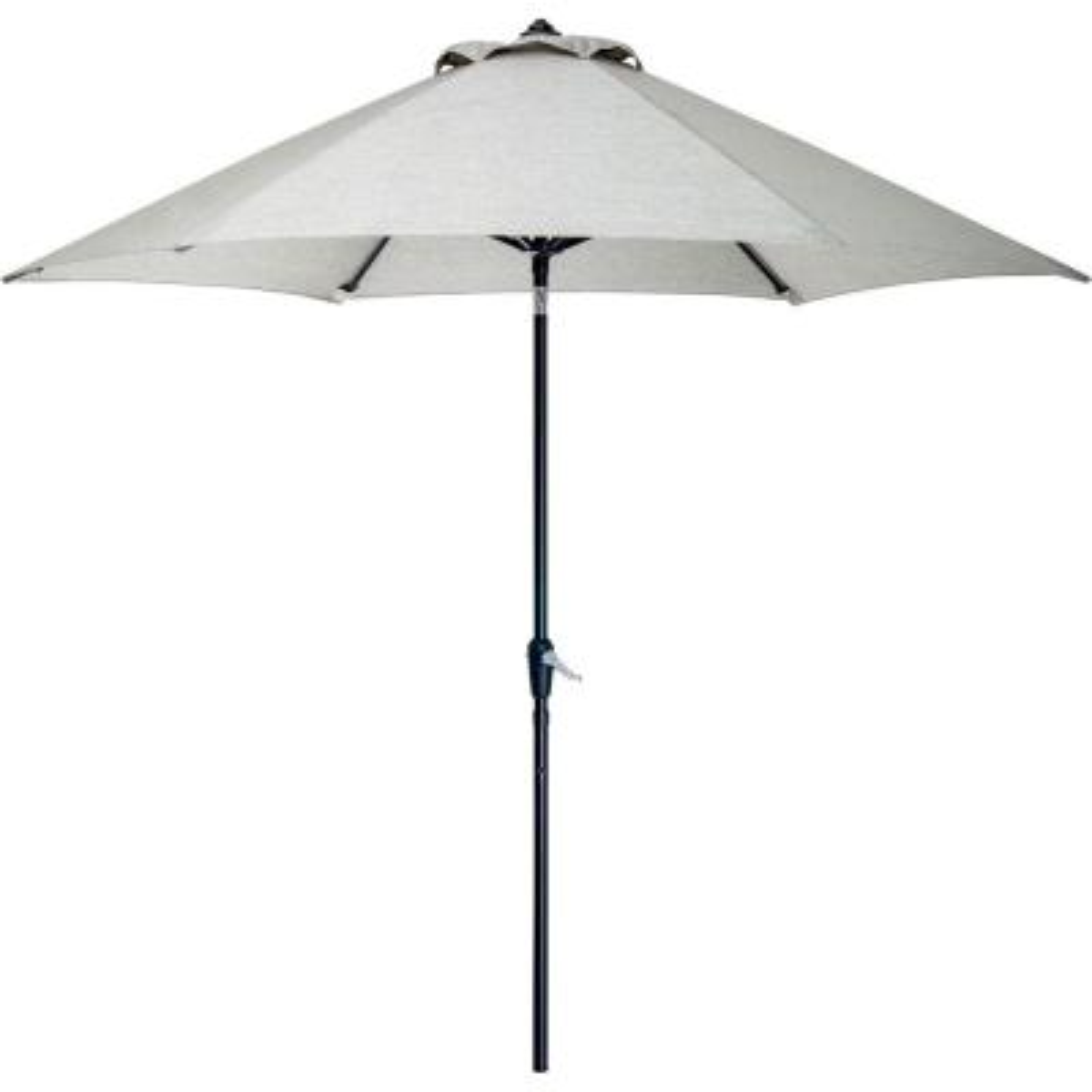 9 ft. Patio Umbrella in Silver