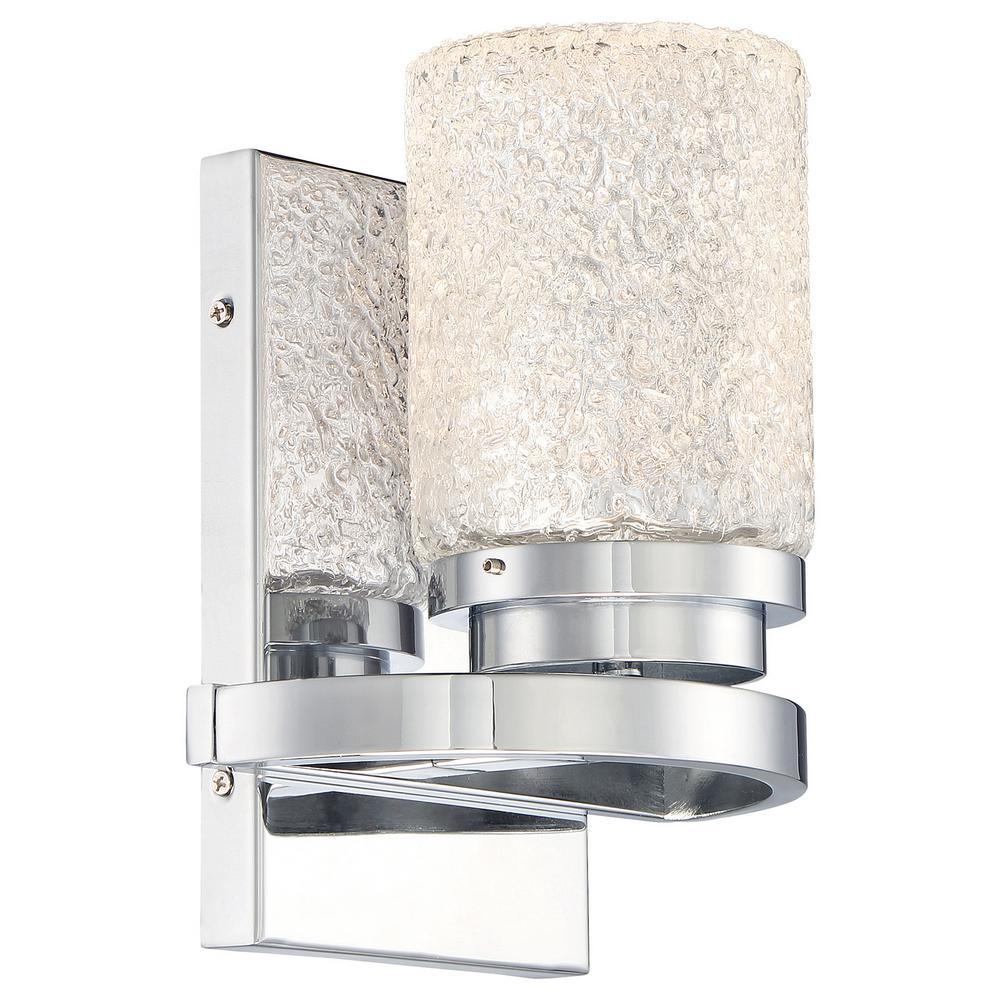 George Kovacs Brilliant Chrome Integrated Led Bath Light