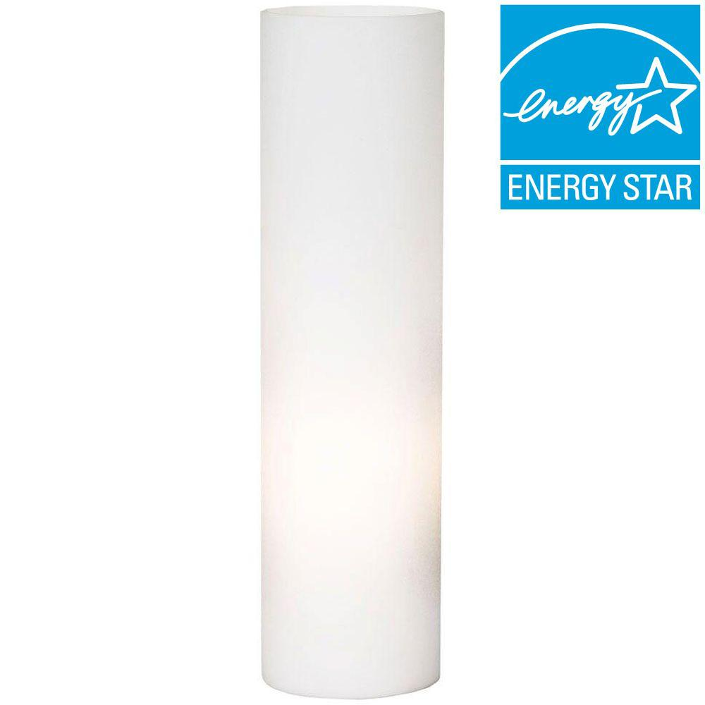 Ordinaire White Glass Table Lamp
