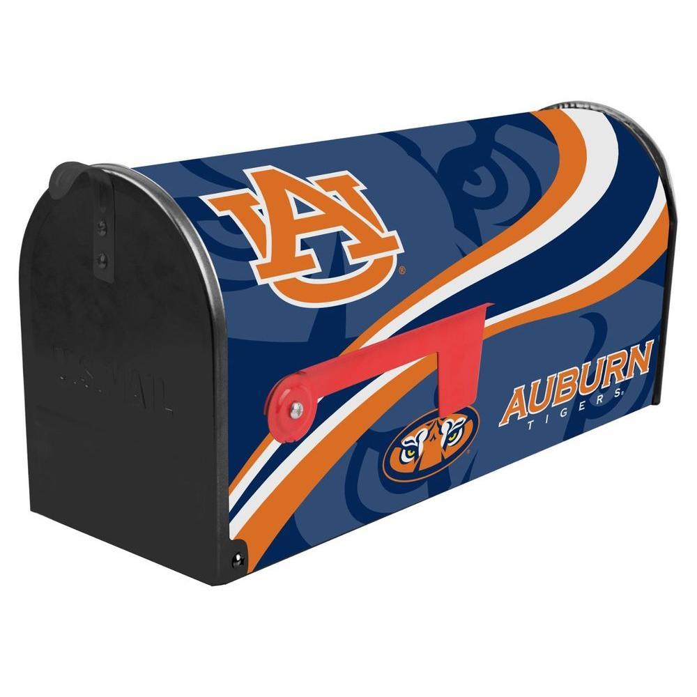 sainty international blue orange post mount auburn university
