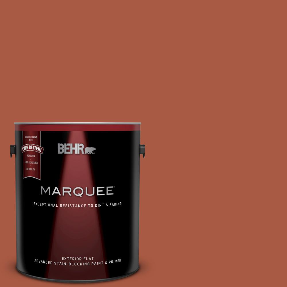 2e876030e8b BEHR MARQUEE 1 gal.  M190-7 Colorful Leaves Flat Exterior Paint and ...