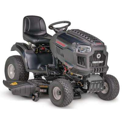 Super Bronco XP 50 in. 679 cc V2 OHV Engine Gas Lawn Tractor w/ Hydrostatic Transmission, Cruise Control, Mow in Reverse