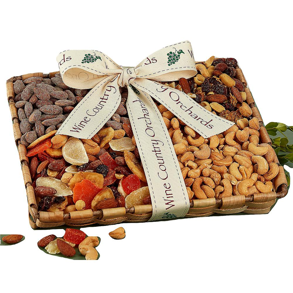 sc 1 st  The Home Depot & Wine Country Gift Baskets Mixed Nut Gift Box-834 - The Home Depot