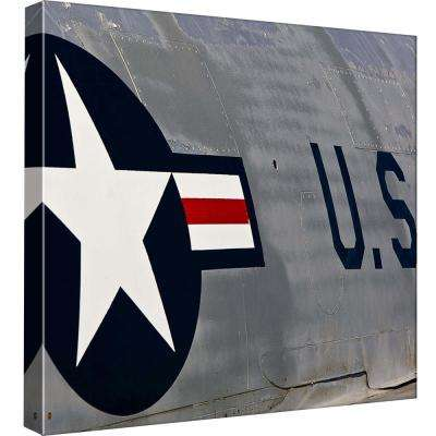 15 in. x 15 in. ''Air Power Park 1'' Printed Canvas Wall Art