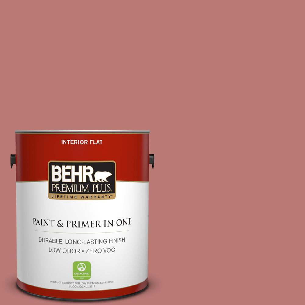 1 gal. #PPU2-10 Heirloom Zero VOC Flat Interior Paint