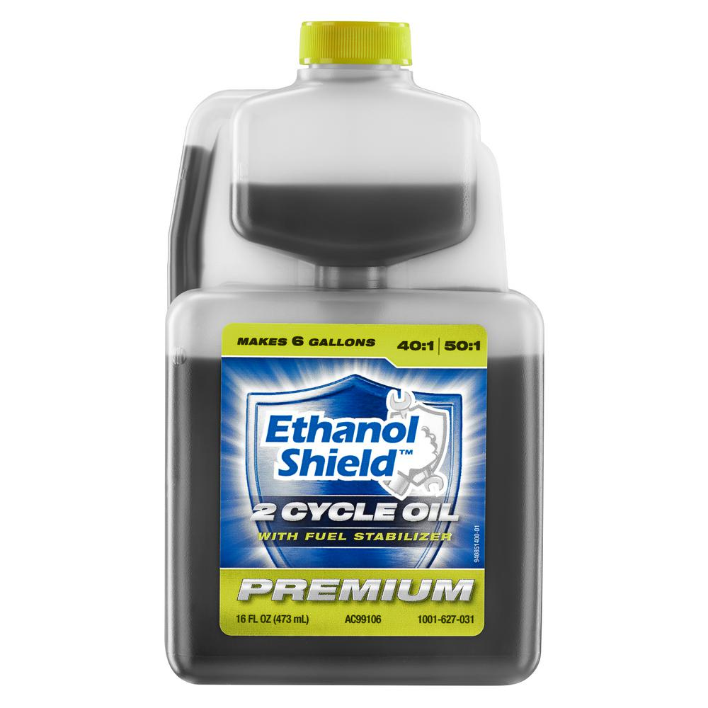 Ethanol Shield 16 oz. 50:1 2-Cycle Engine Oil