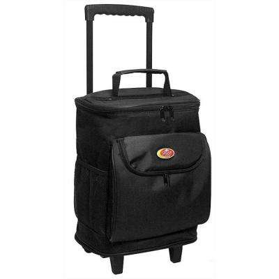 "30 Qt. ""Cool Carry"" Softside Rolling Cooler in Black"