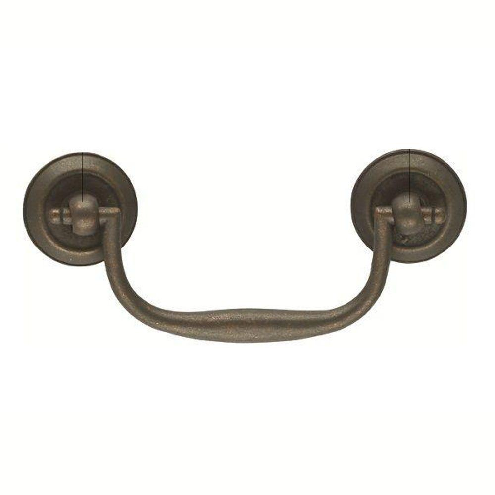 3 in. Windover Antique Furniture Bail Pull